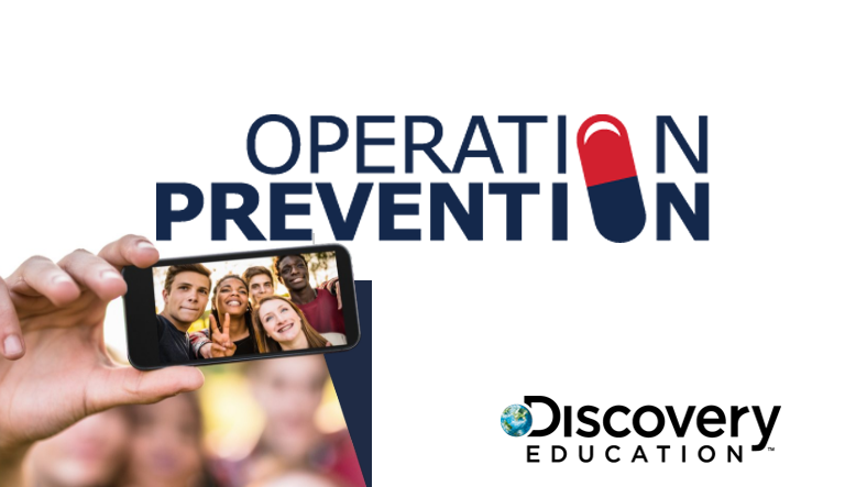 The Drug Enforcement Administration and Discovery Education name grand prize winner of Operation Prevention Video Challenge