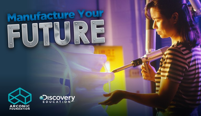 Discovery Education and Arconic Foundation Celebrate National Manufacturing Day with 'Manufacture Your Future Virtual Field Trip' at Arconic in Austin, Texas