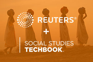 Discovery Education Social Studies Techbook + Reuters News Program