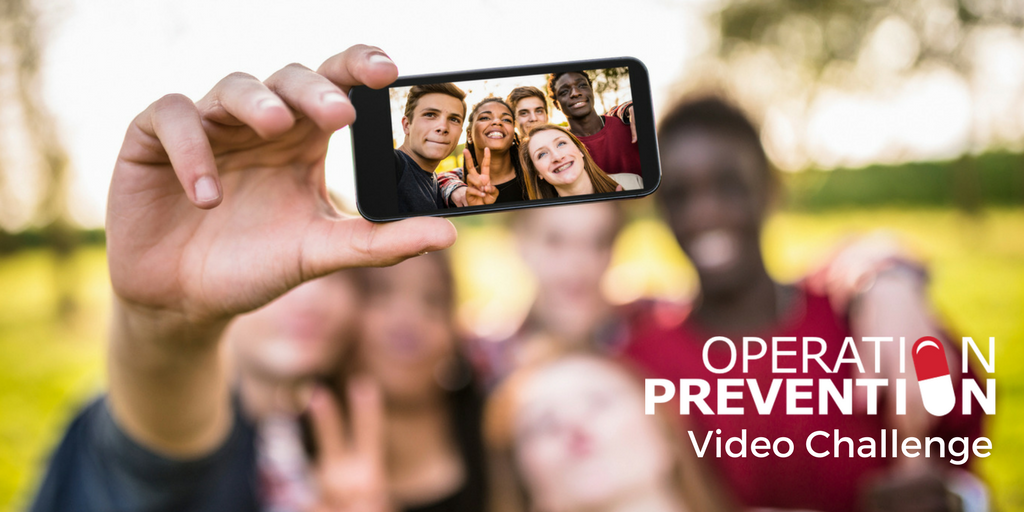 Teens Invited to Enter Third Annual Operation Prevention Video Challenge  as Part of National Opioid Education Initiative