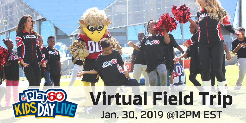 The American Heart Association and the National Football League Work with Discovery Education to Take Students on a Virtual Field Trip Inspired by Super Bowl LIII