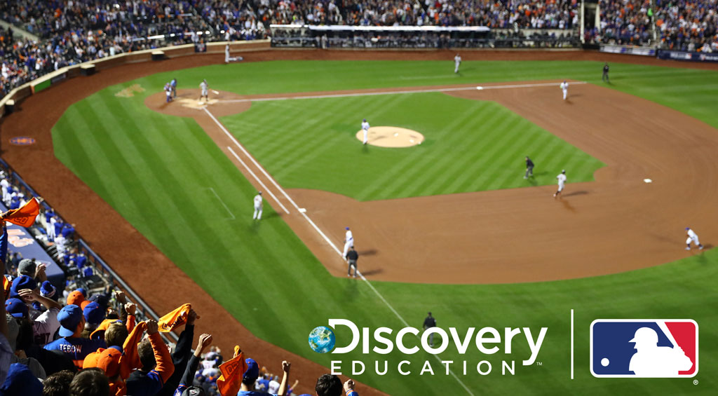 Major League Baseball and Discovery Education Team-Up to Add Dynamic New Baseball-Themed Content to Science Techbook to Fuel Deeper Student Engagement in Science and STEM