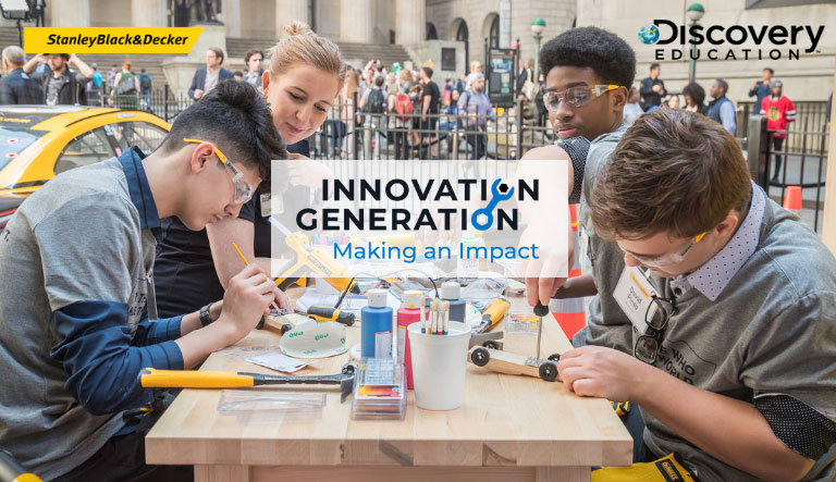 "Stanley Black & Decker and Discovery Education Launch New ""Concept and Create"" Virtual Field Trip Nationwide to Empower 21st Century Makers and Doers"