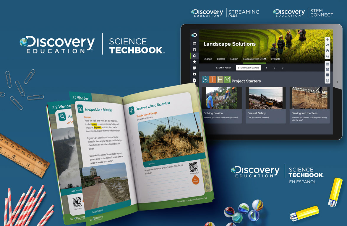 California Science Textbooks & Curriculum | Discovery Education