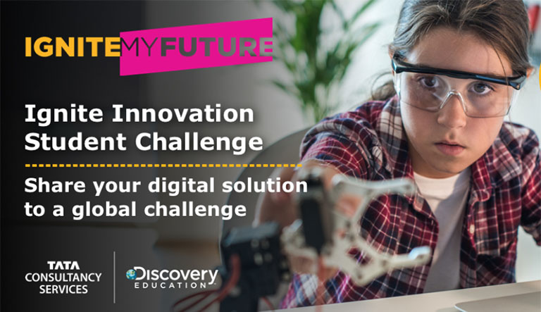 TCS Partners with Discovery Education for Innovation Student Challenge